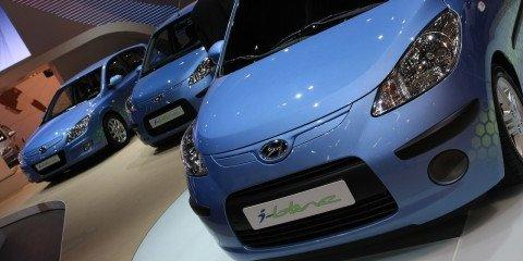 Hyundai stand 2008 Geneva Motor Show