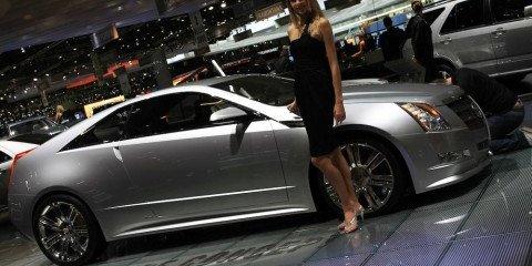 Cadillac CTS Coupe 2008 Geneva Motor Show