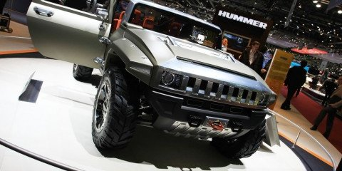 Hummer HX 2008 Geneva Motor Show