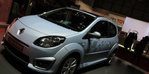Renault stand 2008 Geneva Motor Show