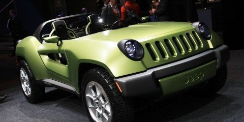 Jeep Renegade concept 2008 Detriot Motor Show