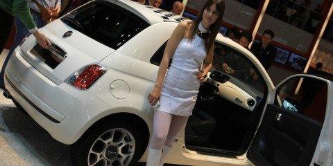 Fiat stand 2008 Geneva Motor Show