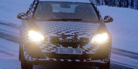 2009 Opel (Holden) Astra spy photos