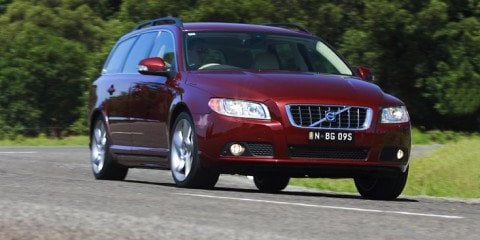 2008 Volvo V70 T6 first steer
