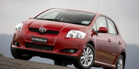 Corolla best selling car for Q1 2008