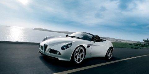 Alfa Romeo 8C Spyder gallery