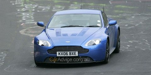 Aston Martin V12 Vantage RS spy photos