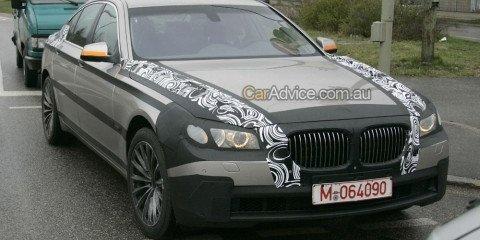 2009 BMW 7-series spy photos