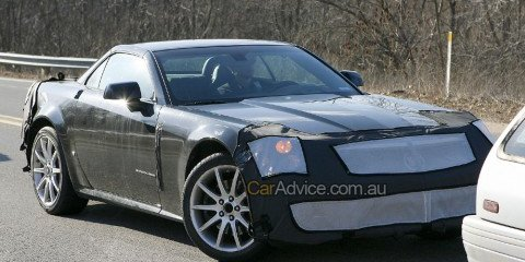 2009 Cadillac XLR V-Series spy photos