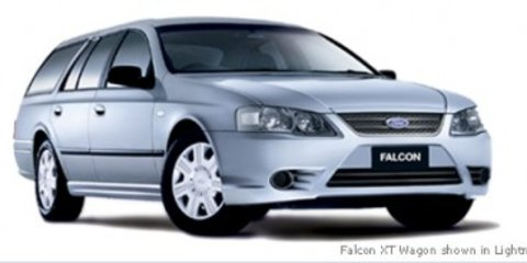 2008 Ford BF Falcon Wagon MkIII