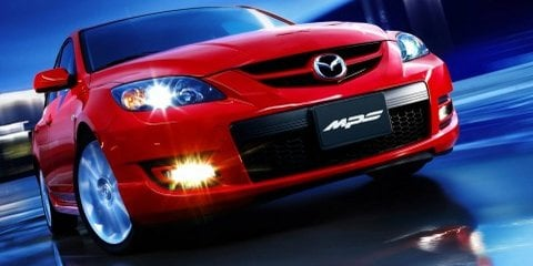 Tweaked 2008 Mazda3 sports range