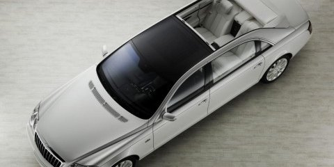 Maybach Landaulet $1.47 million convertible