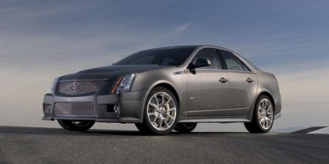 2009 Cadillac CTS-V sets pace at Nurburgring