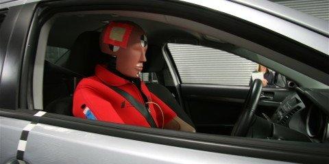 Mitsubishi Lancer and Hyundai i30 get five-star safety rating