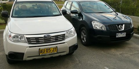 Subaru Forester vs Nissan Dualis Comparison Review