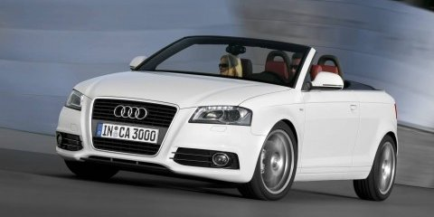 Pricing announced for Audi A3 Cabriolet