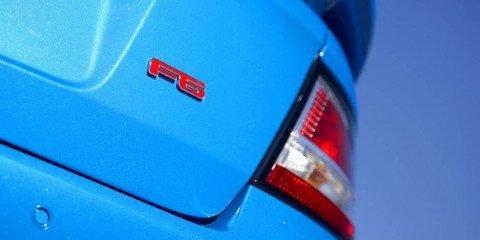 2008 FPV F6 launch