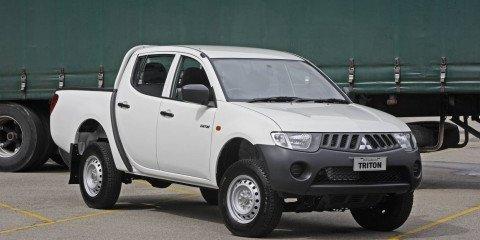 Mitsubishi Triton GLX 2.5 Diesel arrives
