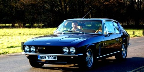 New 6.0-litre V8 Jensen Interceptor