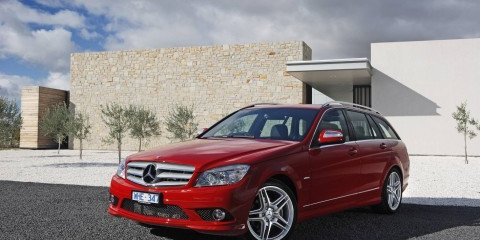 2008 Mercedes C-Class Estate and S320 CDI