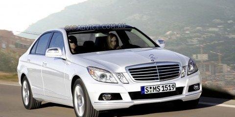 Mercedes-Benz E63 AMG spied