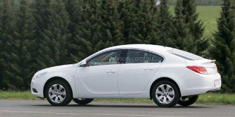 2009 Opel Insignia Fastback spied