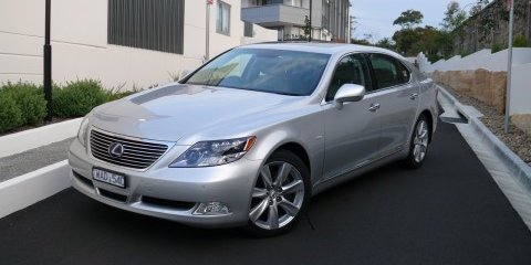 2008 Lexus LS600hL review