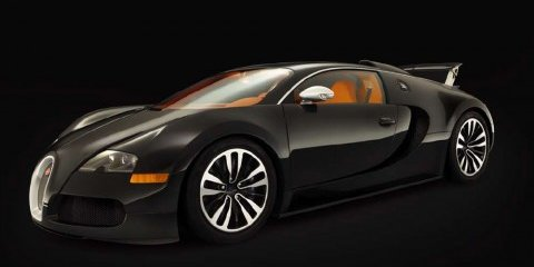 Bugatti Veyron Sang Noir revealed