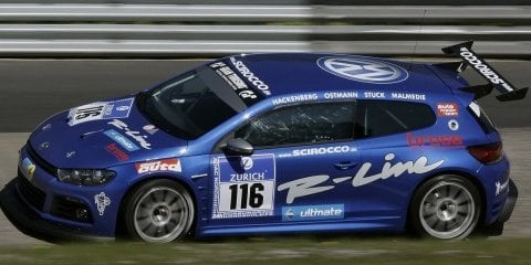 VW Scirocco 24-hour Nurburgring entry