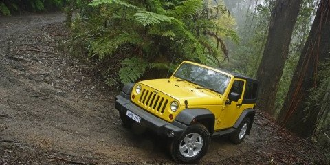 2008 Jeep Wrangler update