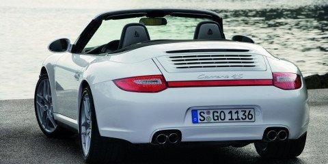 2009 Porsche 911 Carrera 4 range