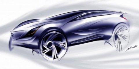 "Mazda ""crosswinds"" concept car"