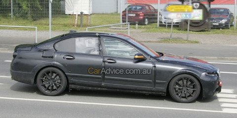 2009 BMW 5-series spy photos