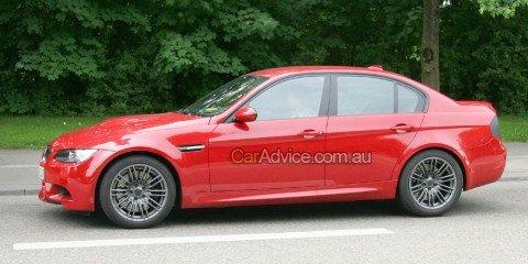 2009 BMW M3 facelift spy photos