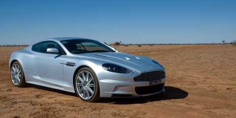 Outback Aston Martin DBS road test trip