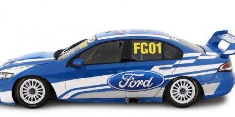 Ford reveals FG01 V8 Supercar