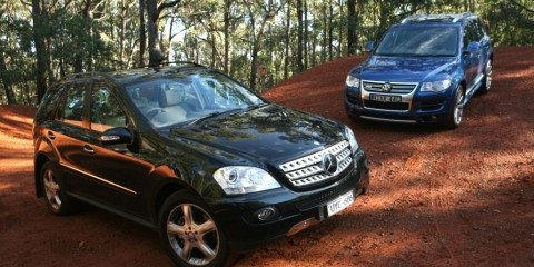 Volkswagen Touareg R50 & Mercedes Benz ML500 review