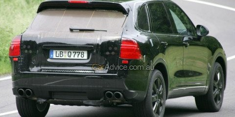 2010 Porsche Cayenne spy photos
