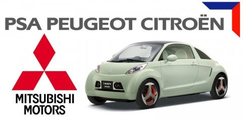 Peugeot Citroen + Mitsubishi = electric cars