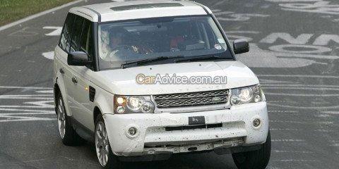 2009 Range Rover Sport spy photos