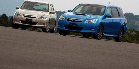 Subaru Exiga MPV officially revealed