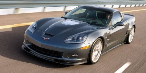 Chevrolet Corvette ZR1 performance specs