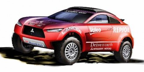 Mitsubishi MRX09 Racing Lancer for Dakar Rally