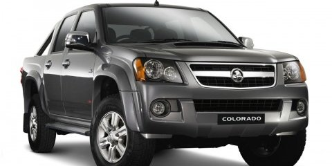 2008 Holden Colorado range and pricing