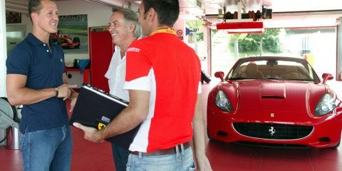 Schuey signs off on Ferrari California