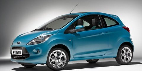 2009 Ford Ka official image leaked