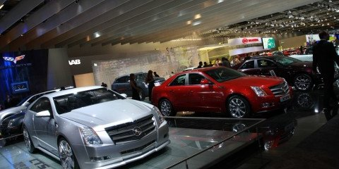 Cadillac stand 2008 London Motorshow