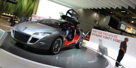 Renault Megane concept 2008 London Motorshow