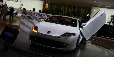 Renault Laguna Coupe concept 2008 London Motorshow