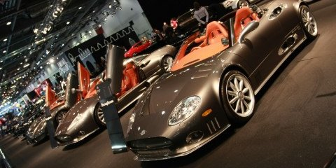 2008 London Motorshow Gallery